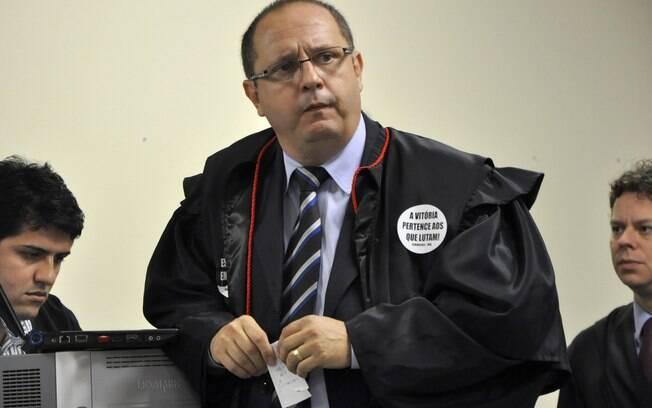 Advogado Ércio Quaresma, um dos defensores de Bola
