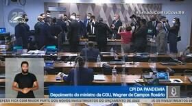 Rosário chama Simone Tebet de descontrolada e CPI é suspensa