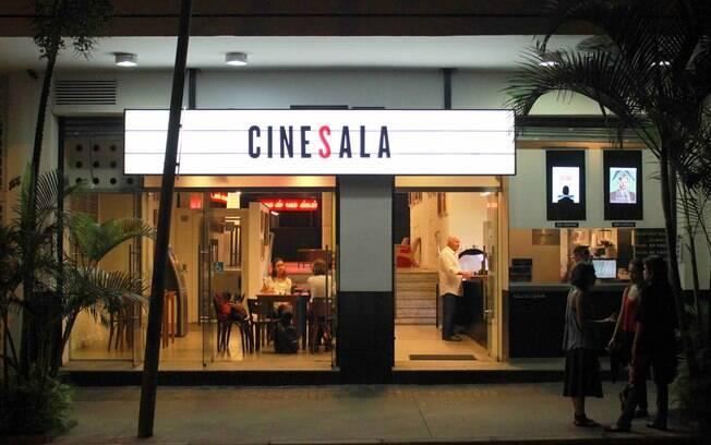 No CineSala, um dos cinemas de rua de São Paulo, você pode assistir filmes premiados e lançamentos