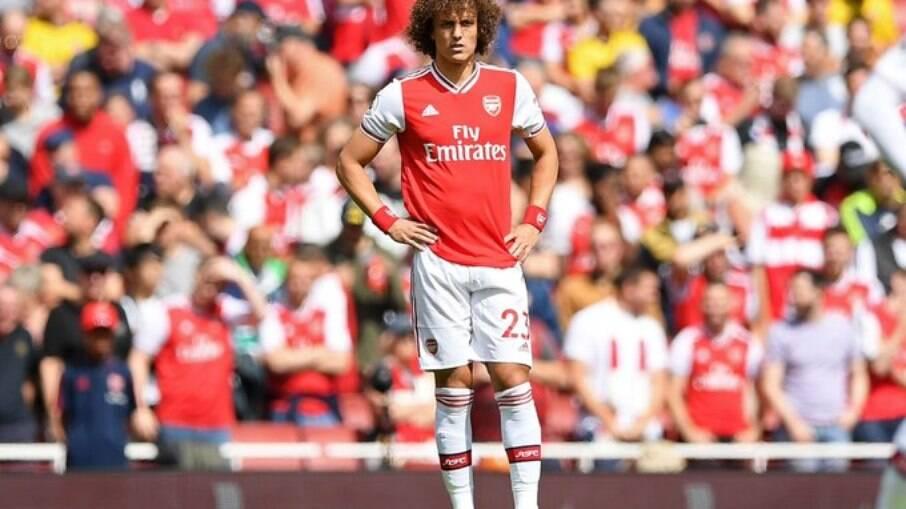 David Luiz está de saída do Arsenal