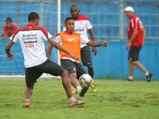 Na Curuzu, jogadores do Internacional se preparam para estreia na Copa do Brasil