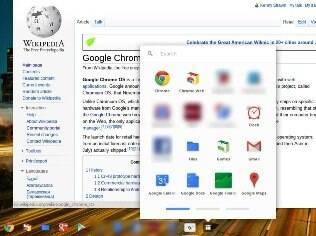 Visual do Chrome OS é baseado no navegador Chrome