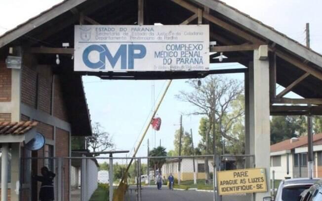 Eduardo Cunha, José Dirceu e João Vaccari estão presos no Complexo Médico Penal de Pinhais, no Paraná