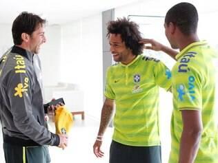 Marcelo foi o último brasileiro a se apresentar ao grupo de Felipão