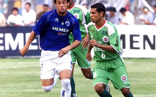 O Ipatinga surpreendem em 2005 ao vencer o Cruzeiro na final do Mineiro