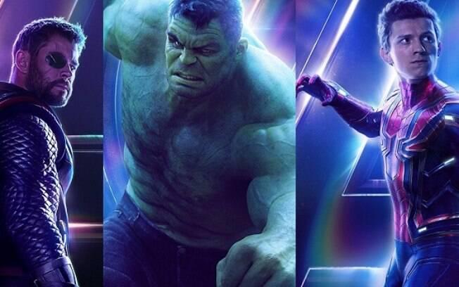 Thor, Hulk e Homem-Aranha