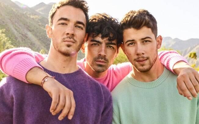"""Jonas Brothers cantam """"Remember This"""" no encerramento das Olimpíadas"""