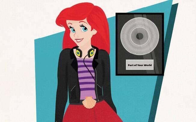 Ariel é uma cantora de sucesso que trabalha também como compositora e produtora musical