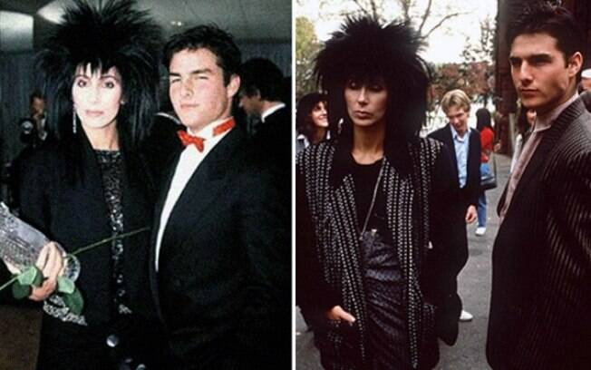 Em 2008, Cher, com 45 anos, e Tom Cruise, com 23 anos, namoraram alguns meses após se conhecerem em um evento na Casa Branca
