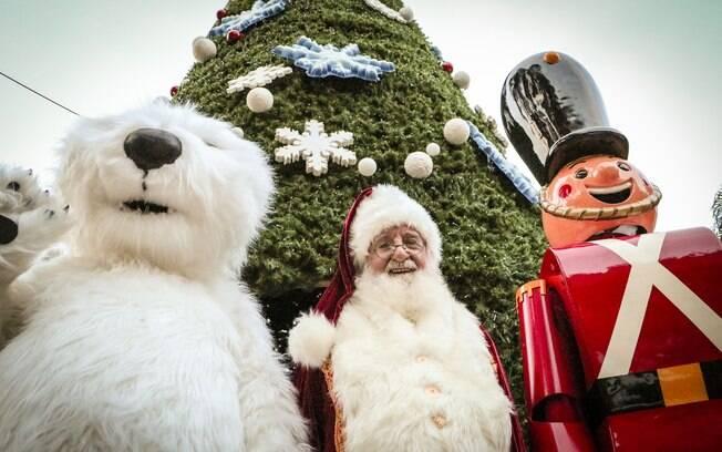 Urso Polar, Papai Noel e Soldadinho de Chumbo