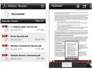 Adobe Reader para iOS