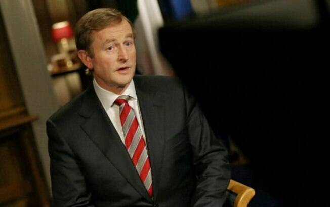 Premiê irlandês, Enda Kenny declarou voto a favor da legalização do casamento gay
