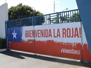 Toca da Raposa II pronta para receber a seleção chilena