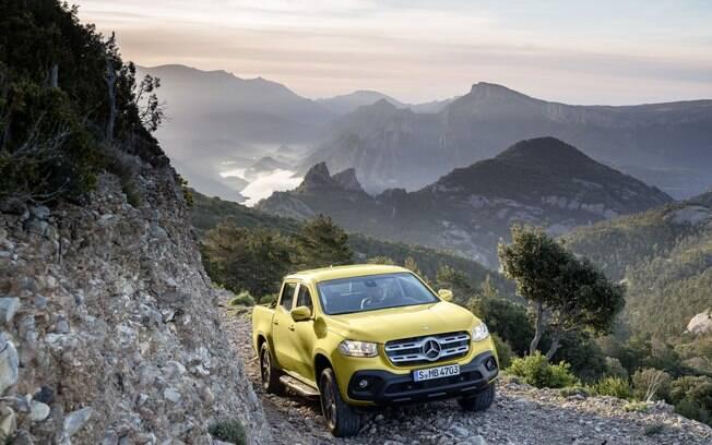 Mercedes-Benz Classe X será uma das novas picapes médias que vão aparecer no Brasil em  breve