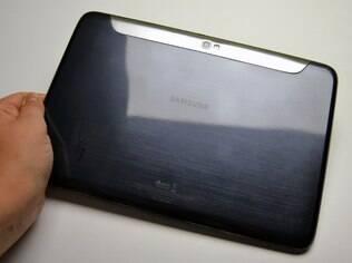 Corpo do Galaxy Note 10.1 é feito de plástico