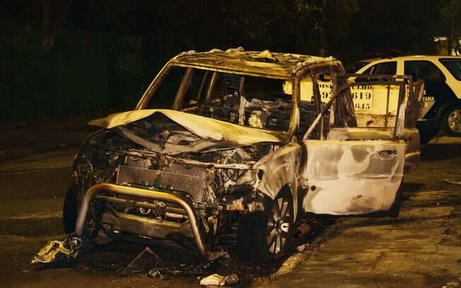 Taxista foi morto carbonizado