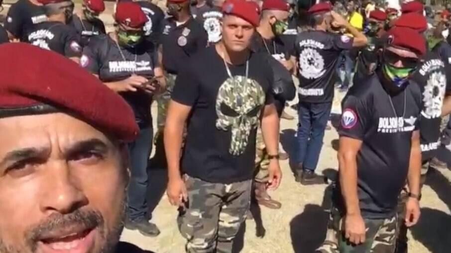 manifestação bolsonaroMP solicita investigação de supostos militares que realizaram apoio a Bolsonaro