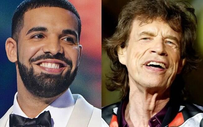 Drake é o novo Mick Jagger?