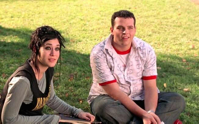 Ao lado da atriz Lizzy Caplan, Franzese como Damian no filme