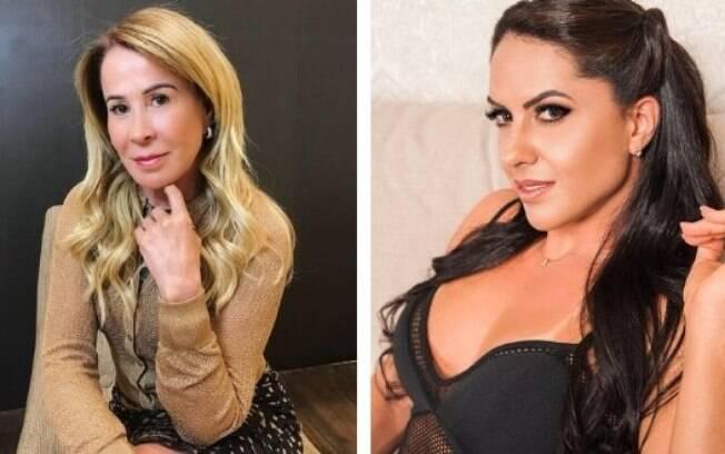 Zilu Camargo e Graciele Lacerda voltam a trocar farpas