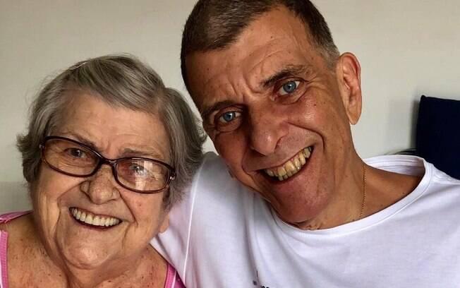 Hilda Rebello e Jorge Fernando