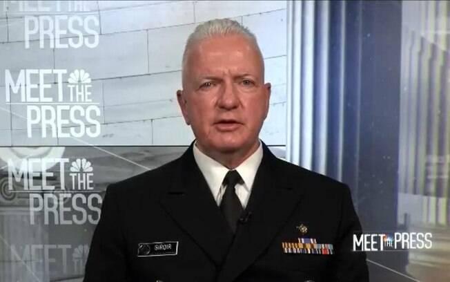 Almirante Brett Giroir disse que não há prova de que a cloroquina ajuda no tratamento de Covid-19