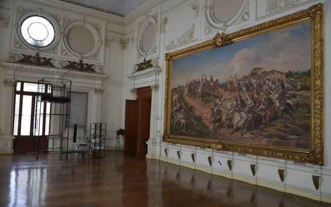 Pedido de obras emergenciais no Museu do Ipiranga foi feito após a divulgação de um relatório do Ministério Publico, que constatou perigo de incêndio no local