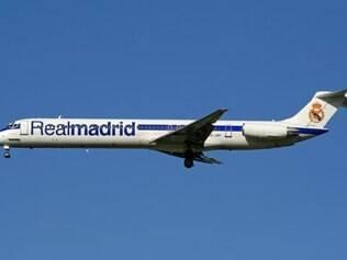 Real Madrid utilizou aeronave por dois anos