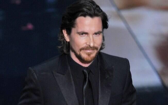 Christian Bale no Oscar 2012
