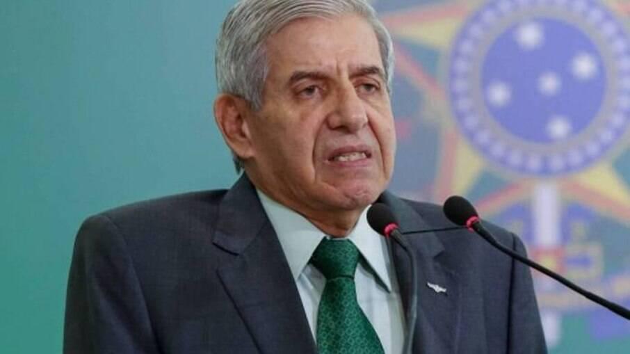 Ministro do Gabinete de Segurança Institucional, general Augusto Heleno