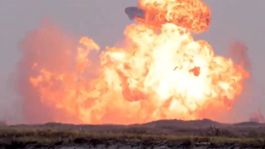 Protótipo explodiu após realizar lançamento, voo e pouso com sucesso