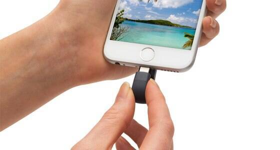 Pen drive libera até 128 GB de memória para iPhones e iPads