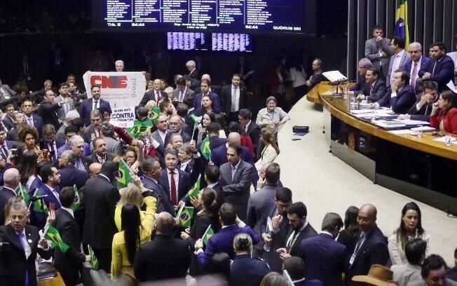 A reforma da Previdência ainda deve ser votada mais uma vez pelo plenário da Câmara antes de seguir para o Senado