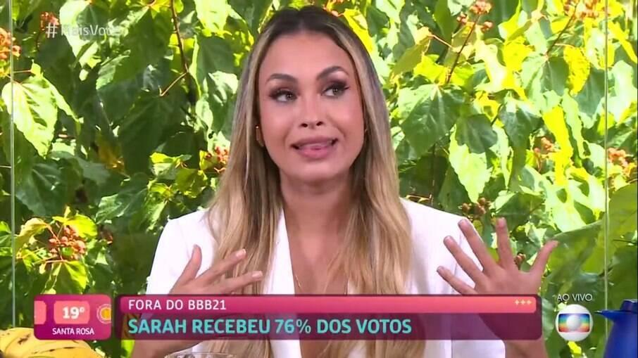 Sarah saiu com mais de 76% dos votos