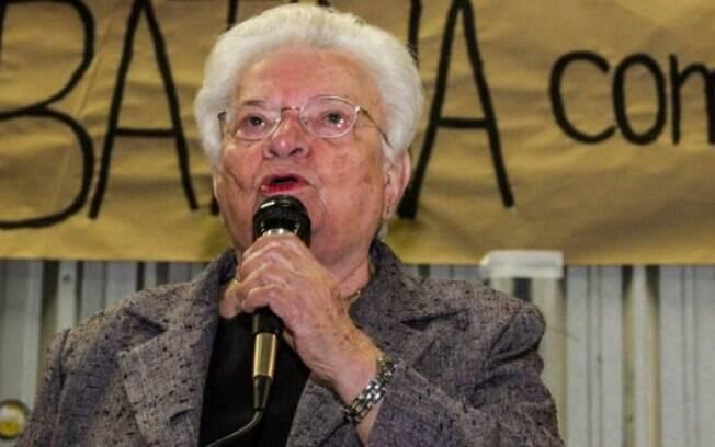 Aos 86 anos, Luiza Erundina voltou a se candidatar para um cargo político