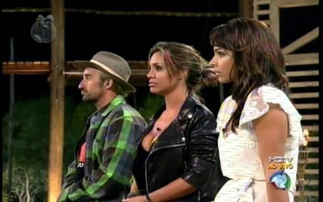 Gui Pádua e Taciane Ribeiro voltam para o reality enquanto Renata Banhara é a primeira eliminada