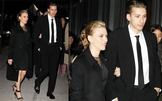 Scarlett e Hunter Johansson: irmãos gêmeos e companheiros
