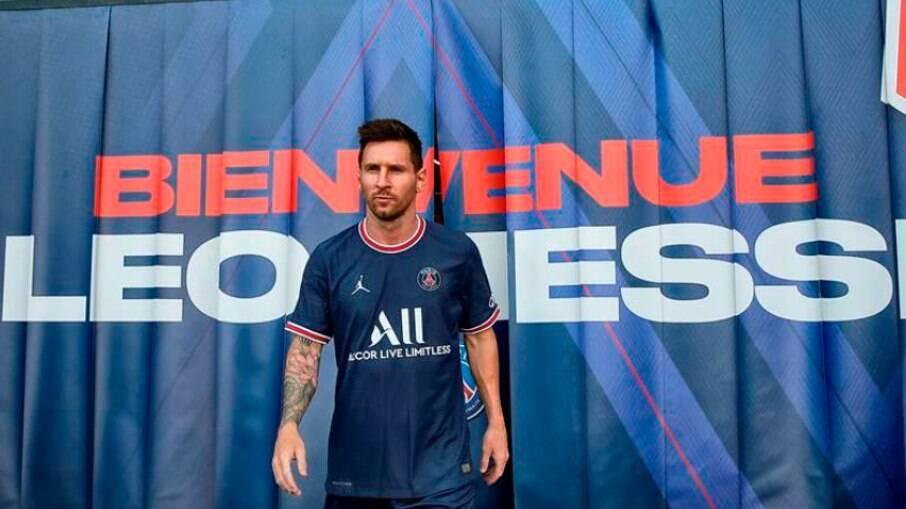 PSG define data para estreia de Messi
