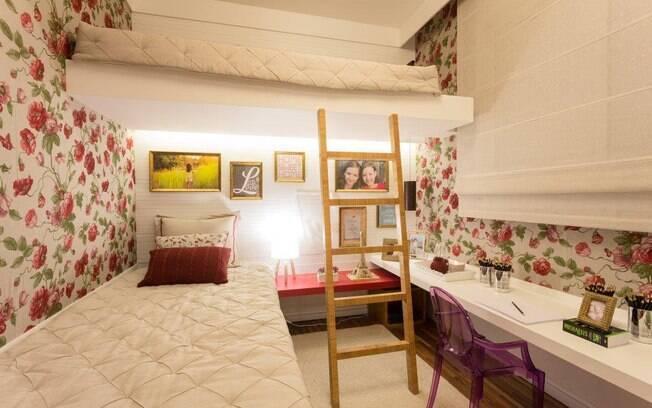 Como decorar quartos de meninas Decoração iG ~ Quarto Planejado Para Gemeas