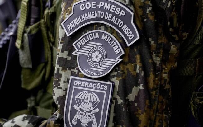 Pouquíssimos Policiais conquistam o privilégio de ostentar o brasão do COE no seu uniforme . Foto: Major PM Luis Augusto Pacheco Ambar