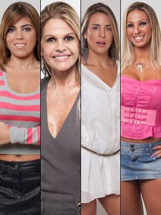 Quatro finalistas_Joana Machado_Valesca Popozuda_Raquel Pacheco_Monique Evans