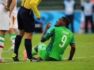 Fifa voltou atrás e revogou punição à Nigéria