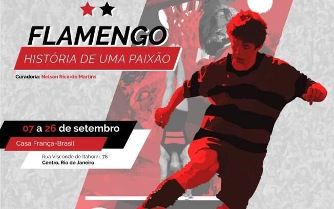 Exposição 'Flamengo: História de uma Paixão' tem fotos, vídeos, oficina de arte, debates e interatividade
