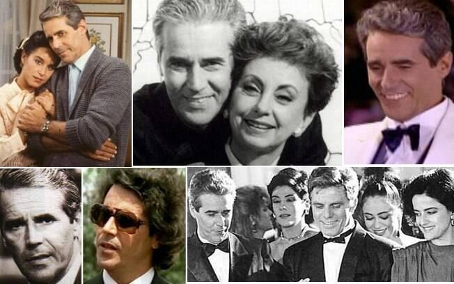 Adriano Reys em diversos trabalhos para a TV: ator morreu aos 78 anos em decorrência de um câncer no fígado