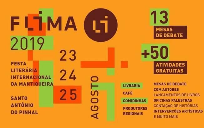 FLIMA 2019 terá mais de 60 apresentações gratuitas durante três dias de evento