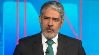 Globo oferece R$ 1,8 mi mensais para Bonner renovar contrato