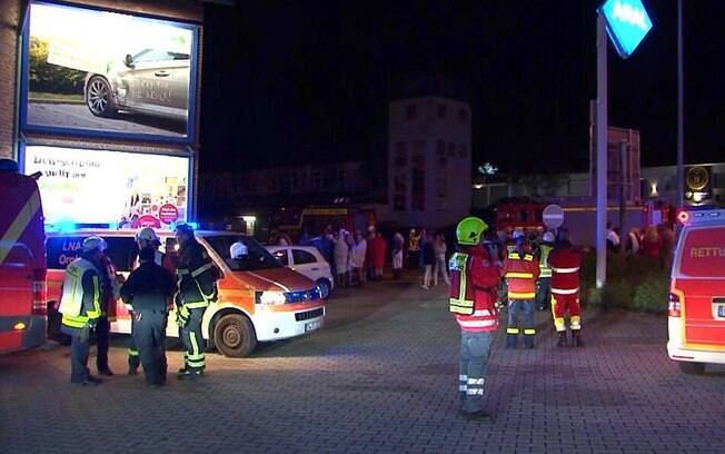Evento aconteceu na pequena cidade de Hattingen, na região oeste da Alemanha