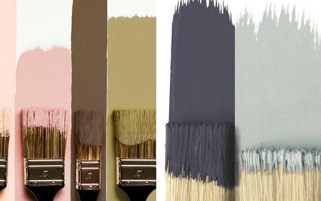 Combinação de cores para pintar as paredes de casa