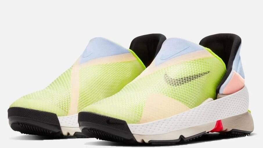 Tênis da Nike adaptável para pessoas com deficiência