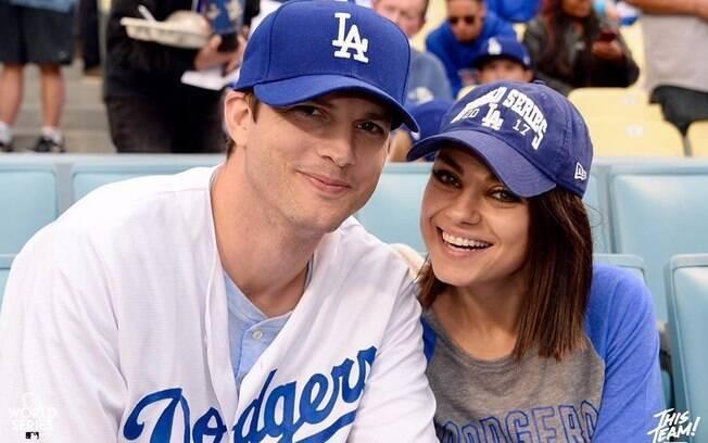 Os atores fizeram Mila Kunis e Ashton Kutcher fizeram um par romântico na série